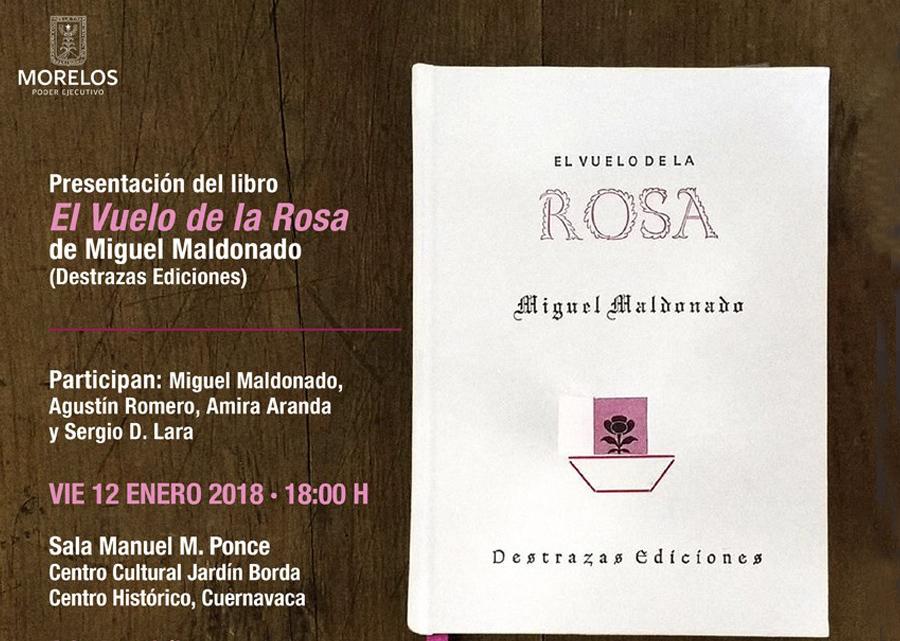El vuelo de la rosa