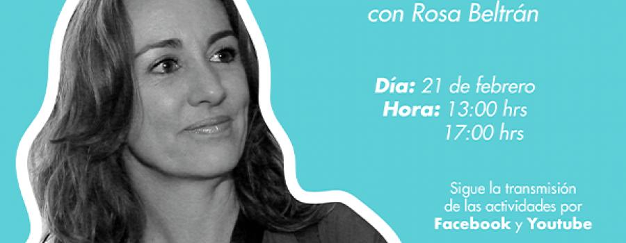 En Voz del Autor con Rosa Beltrán (primera parte)