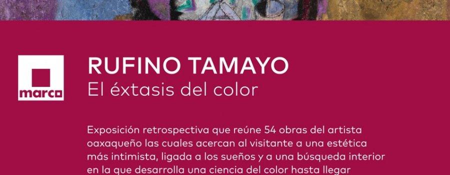 Rufino Tamayo, éxtasis del color