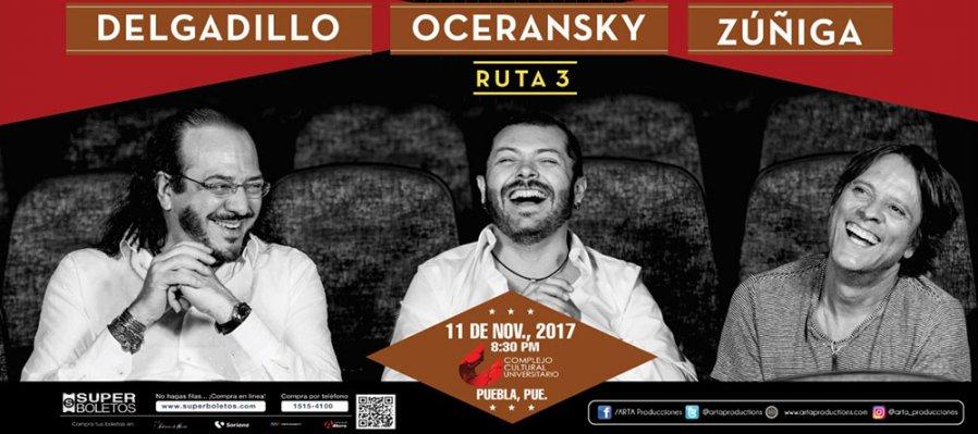 Ruta 3: Delgadillo, Oceransky y Zuñiga