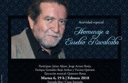 Homenaje a Eusebio Ruvalcaba