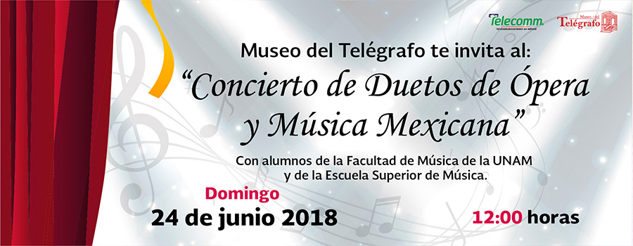 Concierto de Duetos de Ópera y Música Mexicana