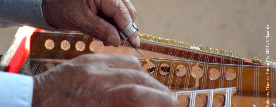 Música con historia. Los salterios de Altzayanca. Tlaxcala