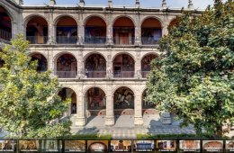 Make a Virtual Tour to the Old College of San Ildefonso
