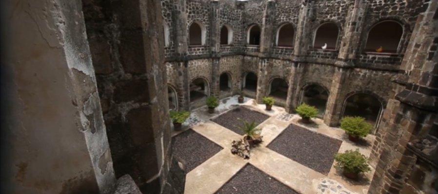 Huellas de la evangelización. Ex Convento de San Juan Bautista, Tetela del Volcán, Morelos