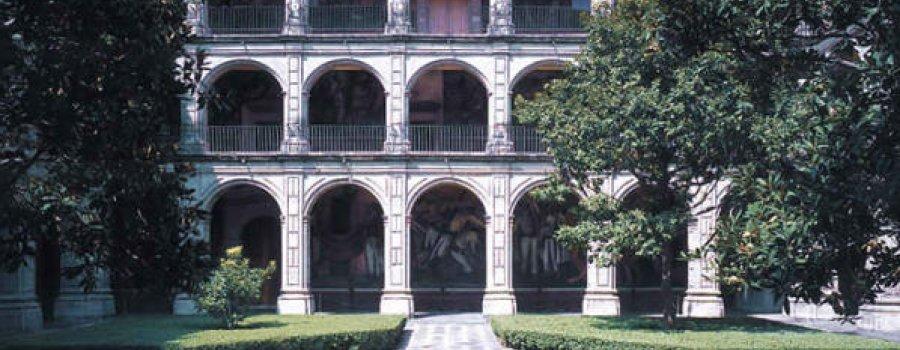 Recorrido virtual por el Colegio de San Ildefonso