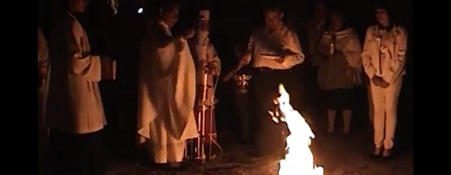 El Toxácatl, Un lamento que anuncia la muerte de Jesucristo