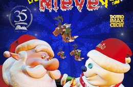 Santa vs. el Hombre de Nieve