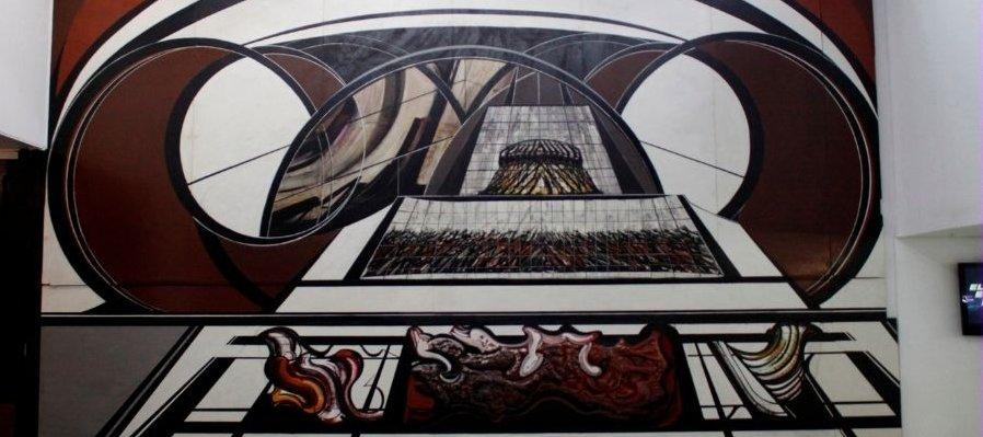 Murales in situ de David Alfaro Siqueiros