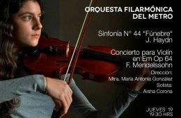 Concierto para violín en Em Op 64