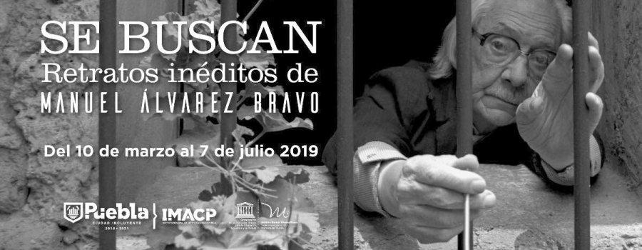 Visitas guiadas a la exposición Se buscan: Retratos Inéditos de Manuel Álvarez Bravo