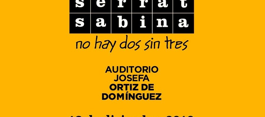 Serrat y Sabina: no hay dos sin tres