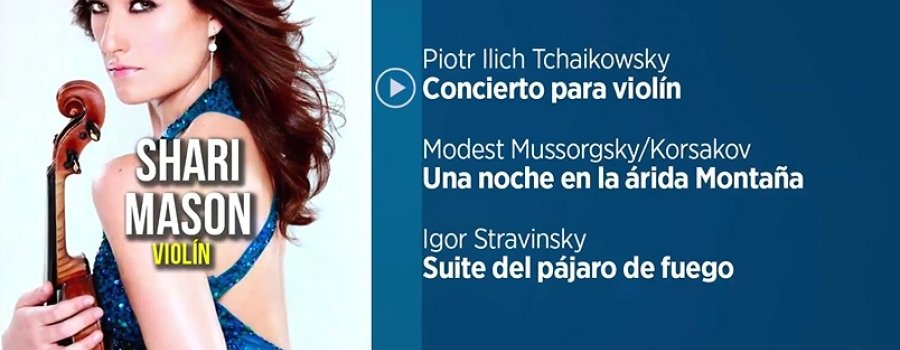 Shari Mason with Yucatán Symphony Orchestra
