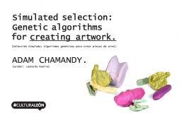 CAVI: Selección simulada, algoritmos genéticos para cre...