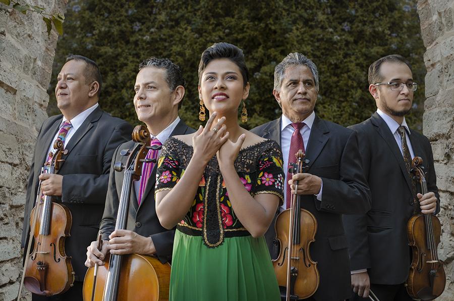 Sindy Gutiérrez y Paax K´aay Cuarteto de Cuerdas