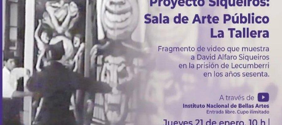 Fragmento de video que muestra a David Alfaro Siqueiros en la prisión de Lecumberri