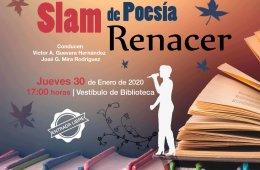 Slam de poesía  Micrófono libre Renacer