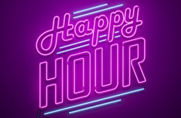 Happy hour on Social Network