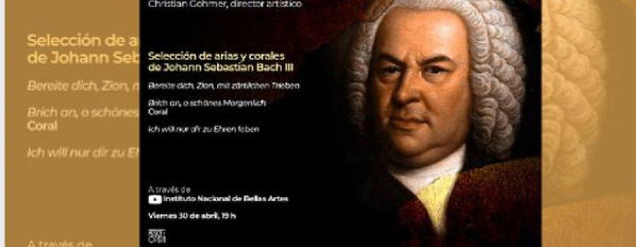 Solistas Ensamble de Bellas Artes / Selección de arias y corales de Johann Sebastian Bach III