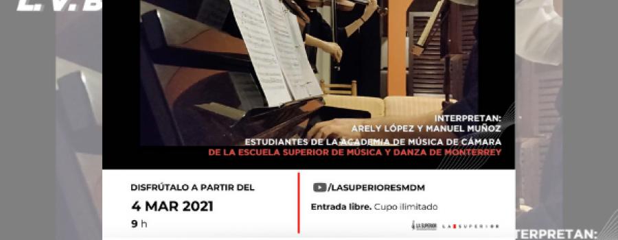 Sonata para Violín #7 (Op. 30, #2) de Ludwig van Beethoven