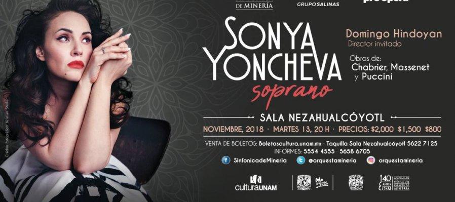 Concierto de Sonya Yoncheva