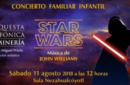 Concierto familiar de Star Wars