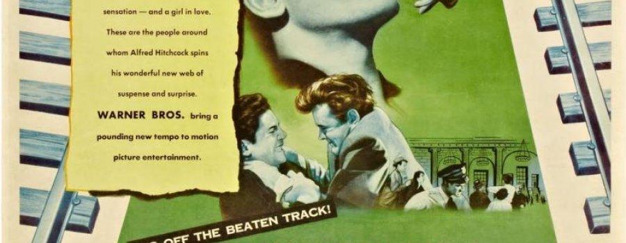 Extraños en un tren (Alfred Hitchcock, 1950)