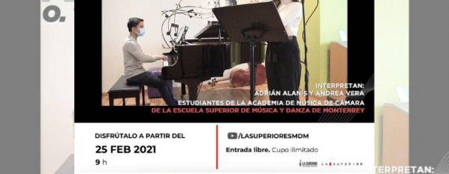 Sonata para flauta y piano en Do Mayor de Otar Taktakishvili. ESMDM