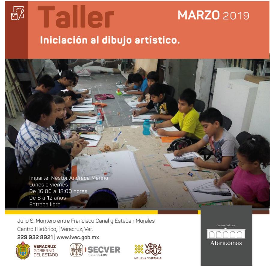 Taller: Iniciación al dibujo artístico