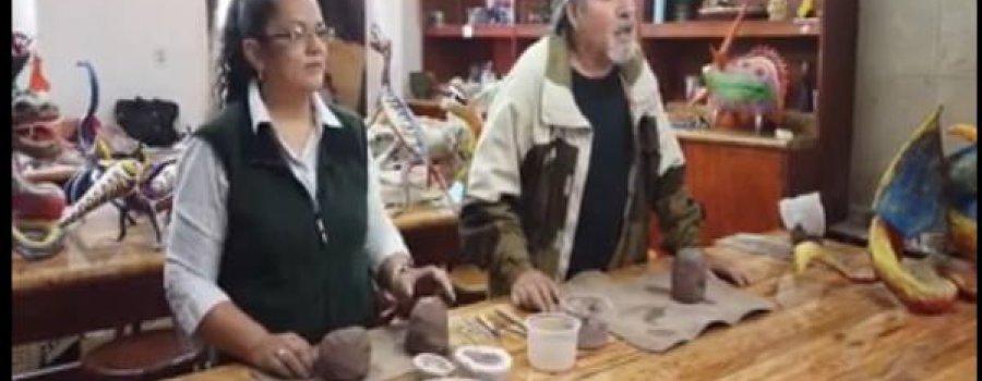 Taller de alebrijes y cerámica