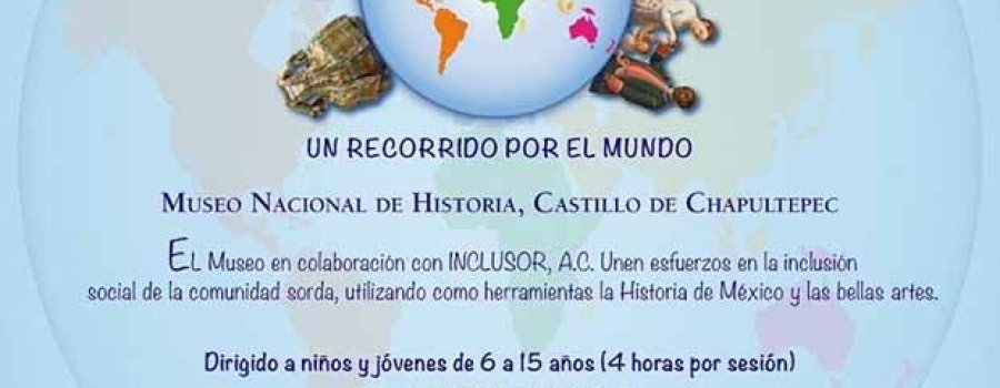 Taller bilingüe de historia y arte para niños