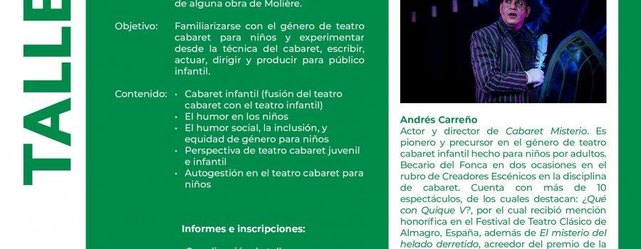 Cabaret para niños: Creación de espectáculos