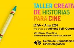 Taller Creativo de Historias para Cine