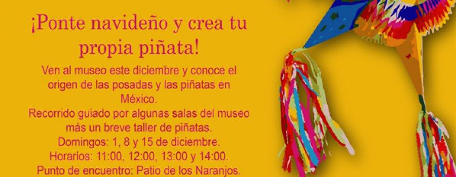 Visita guiada y taller de Piñatas en el Virreinato
