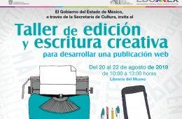 Taller de edición y escritura creativa para desarrollar ...