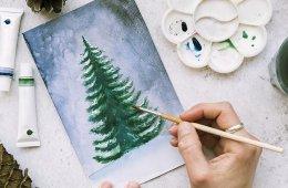 Navidad en una postal