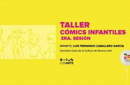 Taller de cómics infantil. Sesión 3