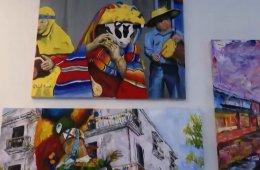 Video recorrido al Taller de Artes Plásticas Rufino Tama...
