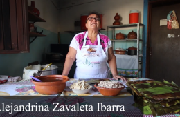 Tamales oaxaqueños: Alejandrina Zavaleta