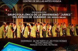 Folkloric Group of Juárez University of the State of Dur...