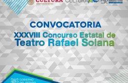 XXXVIII Concurso Estatal de Teatro Rafael Solana
