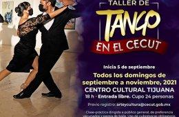 Taller de Tango en el Cecut