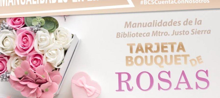 Manualidades en línea. Bouquet de rosas