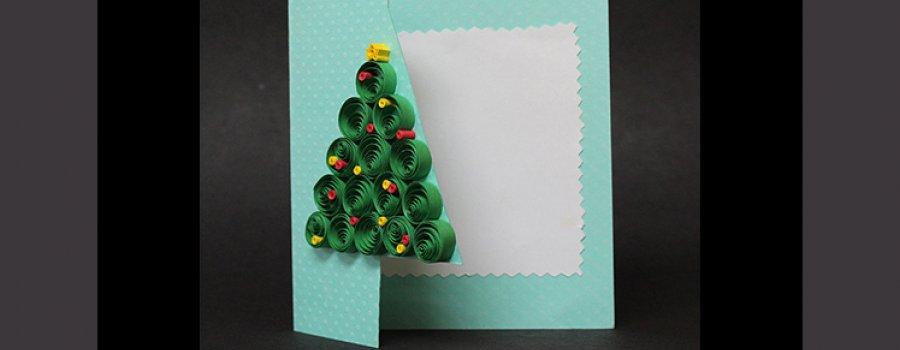 Una tradición en papel: tarjeta navideña