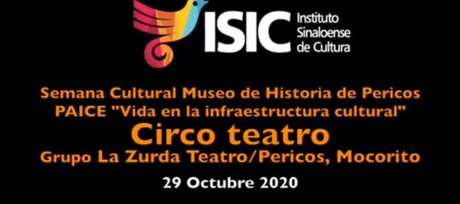 Montaje La Zurda con Circo Teatro
