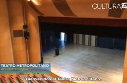 Teatro Metropolitano: recorrido virtual