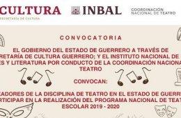 Programa Nacional de Teatro 2019-2020