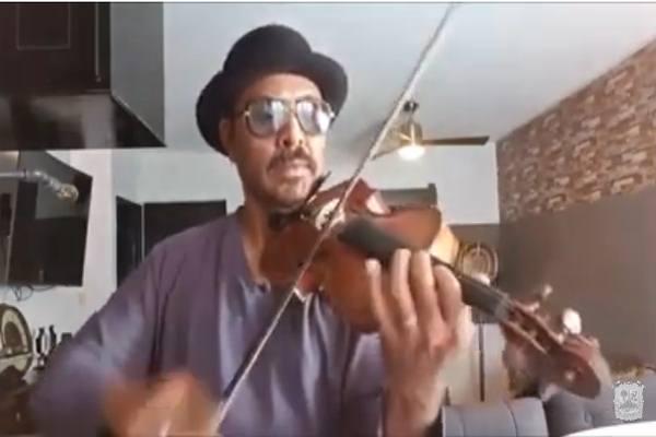 Recital de violín. Temas infantiles de ayer y hoy
