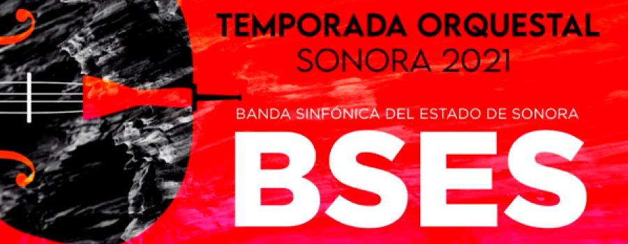 Quinteto de maderas con la Banda Sinfónica del Estado de Sonora