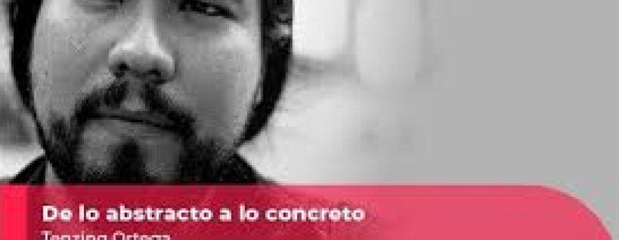 Escenografía de lo abstracto a lo concreto: Tenzing Ortega